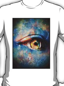 Through the Time Travelers Eye T-Shirt