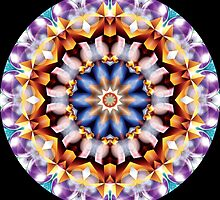 Christmas Color Kaleidoscope 10 by fantasytripp
