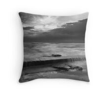 Sunset at Point Road Knight  Throw Pillow
