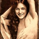 Evelyn Nesbit 1901 by © Kira Bodensted
