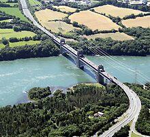 Britannia Bridge Anglesey by John Maxwell