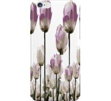 Tulip flowers iPhone Case/Skin
