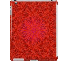 rashim red lace mandala iPad Case/Skin