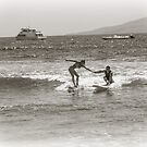 Surfing Nostalgia - Film Grain Image by DeborahKolb