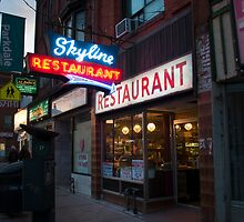 Skyline Restaurant by Gary Chapple