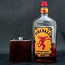 Still Life - Whiskey & Flask by rsangsterkelly
