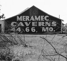 Route 66 - Meramec Caverns Barn by Frank Romeo