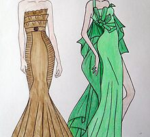 Fashion Illustration 1 by jeaster2706