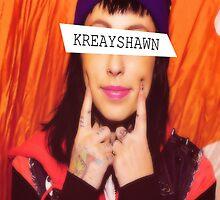Kreayshawn iPhone Case by briexboom