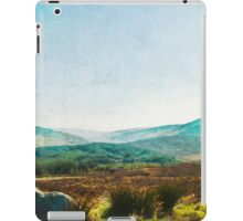 The Colours Change In The Valley Skies iPad Case/Skin