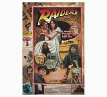 "Raiders of the Lost Ark, ""Circus Style"" poster by Adam McDaniel"