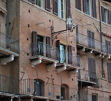 Medieval Townhouse in Siena by Helen Greenwood
