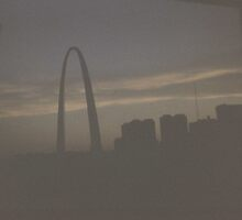 St. Louis Arch, 1970 by Dwaynep2010