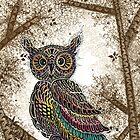 Owl by iamdinda
