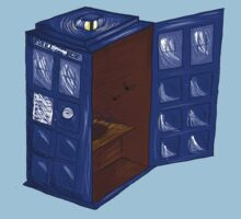 TARDIS Outhouse by NellaHex