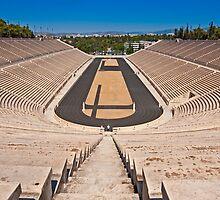 Panathenaic Stadium in Athens by Konstantinos Arvanitopoulos