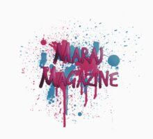 Maraj Magazine Splatter Tee by MarajMagazine