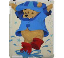 Splashing Winnie The Pooh iPad Case/Skin