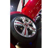 Hyundai Veloster Wheel [ Print & iPad / iPod / iPhone Case ] Photographic Print