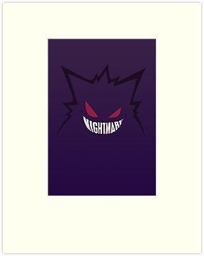 Nightmare. [Gengar, Pokemon] by Ruwah
