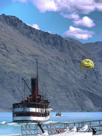 The TSS Earnslaw - Come On We'll Race You by Larry Davis