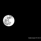 Full Moon - December 28th, 2012 by  Sophie Smith