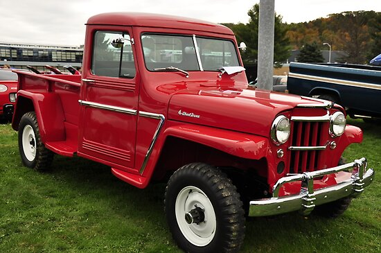 1960's Jeep Willy's Pickup by BLAKSTEEL