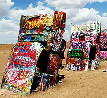 Cadillac Ranch by gillcrow