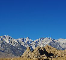 Mt Whitney, highest summit in the lower 48 by Claudio Del Luongo