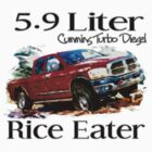 5.9 Liter Cummins by Truck Tee's