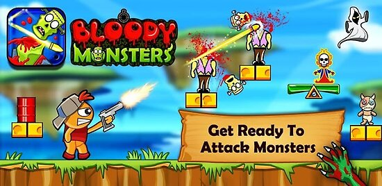 Bloody Monsters - Zombie Shooting Game for Android by johnmorris8755