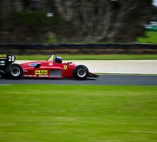1985 F1 Ferrari 156/85 by Steven Weeks