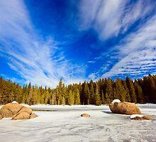 beauty of winter sky by plamenx