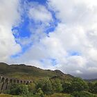 glenfinnan viaduct, western scotland by geoffford