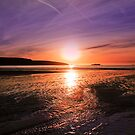 Broadhaven At Sunset by mbricknell
