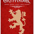 Gryffindor House Poster by liquidsouldes