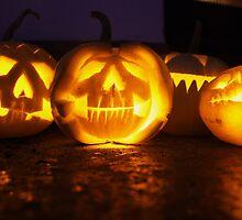 Halloween Lanterns by lwatmore