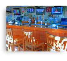 HDR Happy Hour Canvas Print