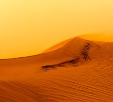 Red Desert Sand Dune.  by PhotoStock-Isra