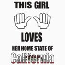 This girl loves California ! by sublimy99