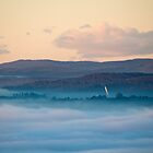 Batman Bridge in the Misty Morn by Alastair Creswell