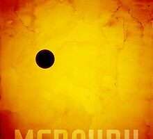 The Planet Mercury by ArtPrints