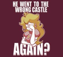 He went to the wrong castle AGAIN? by pierceistruth