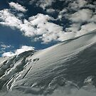 On the top of the World - Snow and Sky II by Anton Oparin