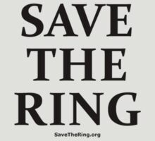Save The Ring t-shirt by Pieter Colignon