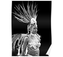 Las Vegas showgirl  Poster