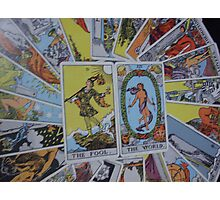 Tarot Cards Photographic Print