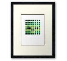 PIXEL8 | Zombie Framed Print