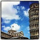 Square of Miracles and the Leaning Tower of Pisa by peestols