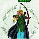 Legolas Card 2 by ChrisNeal